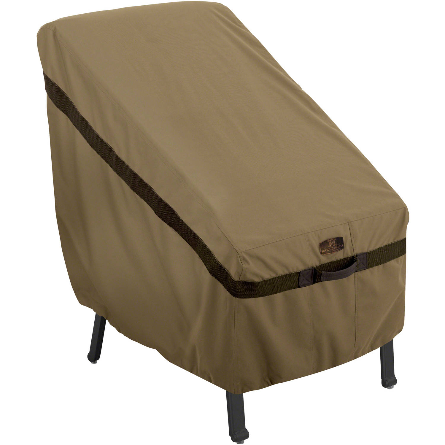 Classic Accessories Hickory Highback Chair Patio Furniture Storage Cover, Tan by Classic Accessories