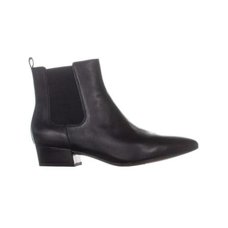 05c9a49a3ca Franco Sarto Archie Zip Up Ankle Boots, Black | Walmart Canada