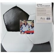"Sport & Hobby Post Bound Album 12""X12""-Soccer"