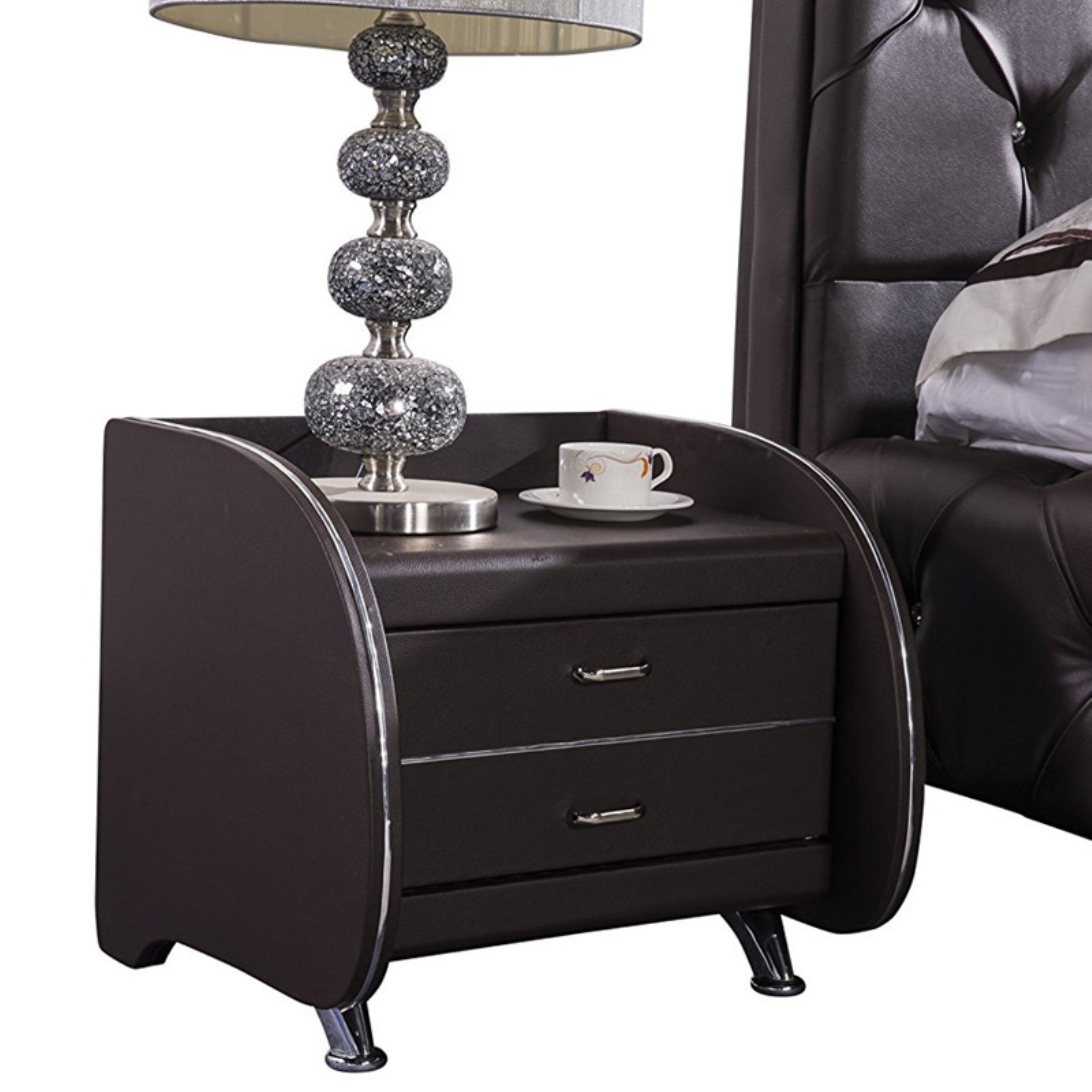 US Pride Furniture Contemporary Nightstand
