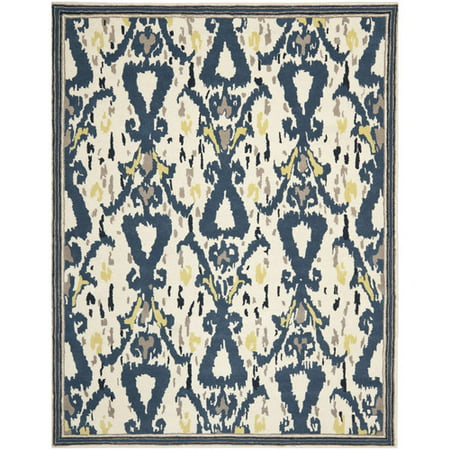 Safavieh Martha Stewart Ikat Pendant Bordered Area Rug - Martha Stewart Border