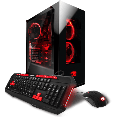 a219385e5e1 iBUYPOWER Element WA906 Gaming Desktop PC with Liquid-Cooled Intel Core i7-6800K  Processor