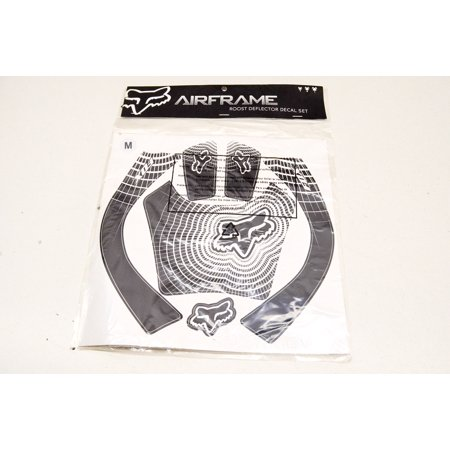 Airframe Chest Protector Roost Guard Deflector Decal Kit Black Medium