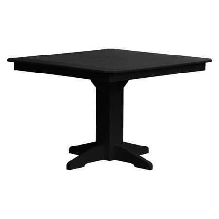 Radionic Hi Tech Newport Recycled Plastic Square Patio Dining Table ()