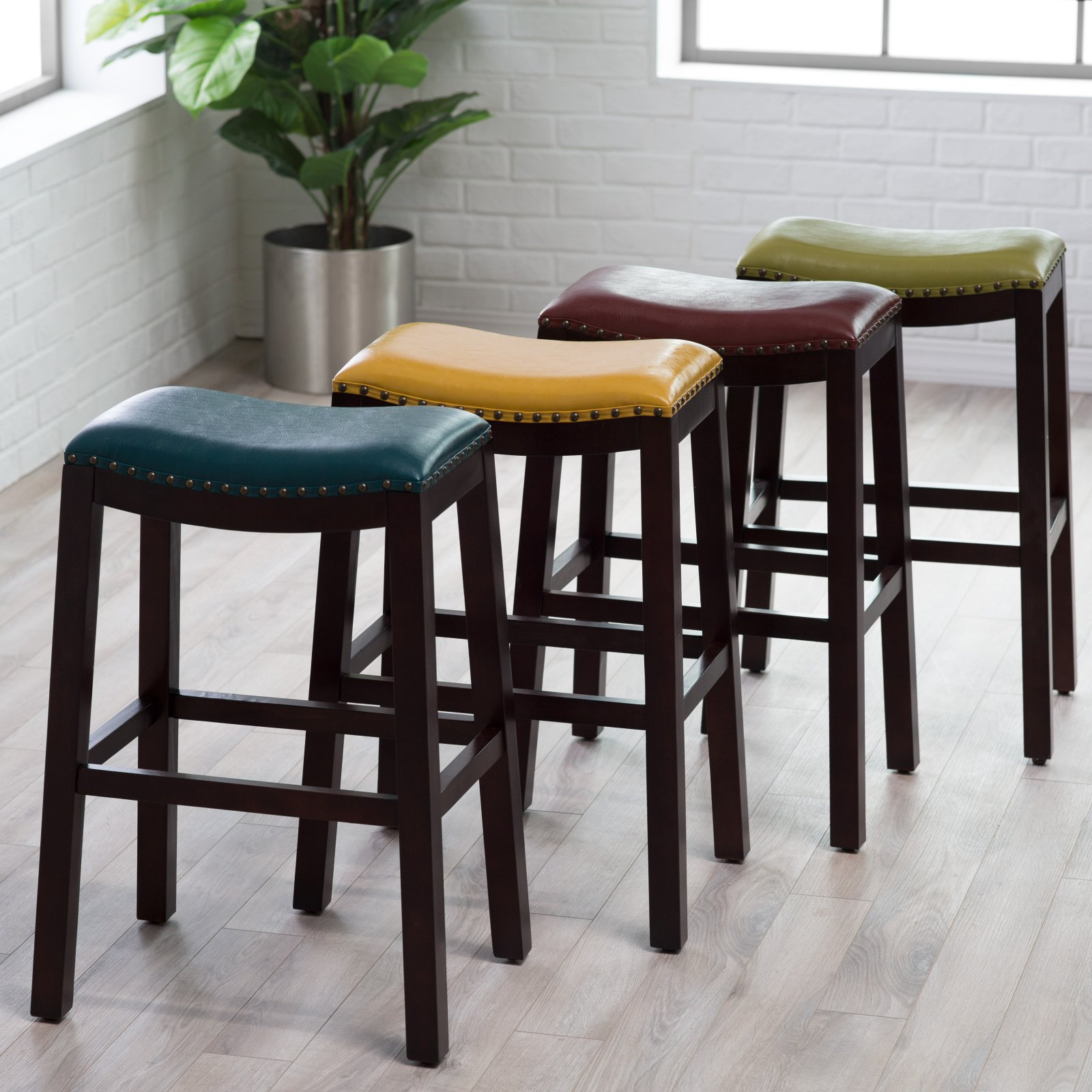 Incredible Belham Living Hutton Backless Bar Stool Uwap Interior Chair Design Uwaporg