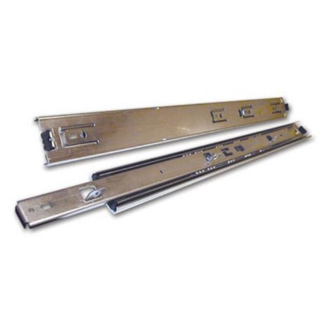 Knape & Vogt Kv8407 B12 12 inch Full Extension Slide With Shelf Tabs