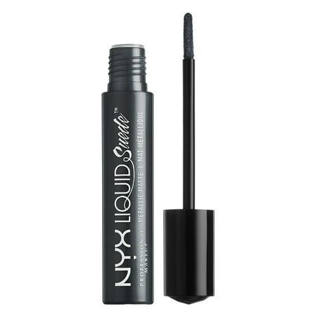 NYX Professional Makeup Liquid Suede Metallic Matte Cream Lipstick, Go (Best Longwear Liquid Lipstick)