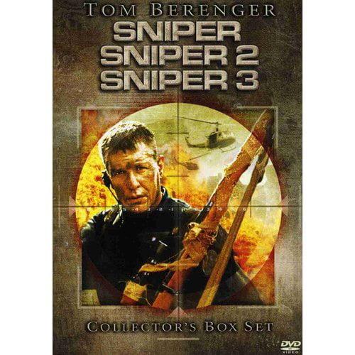 Sniper Collector's Box Set: Sniper, Sniper 2, and Sniper 3