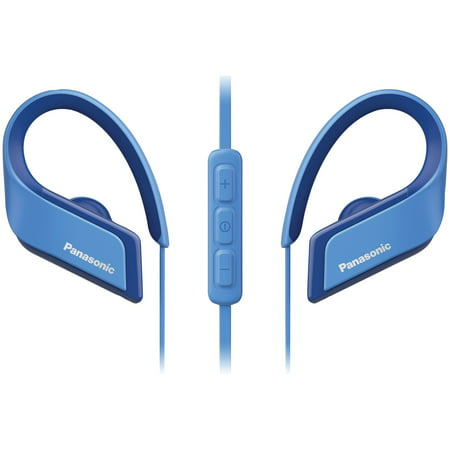 Panasonic RP-BTS35-A WINGS Ultralight In-Ear Sport-Clip Earphones with Bluetooth - Ultralight Wing
