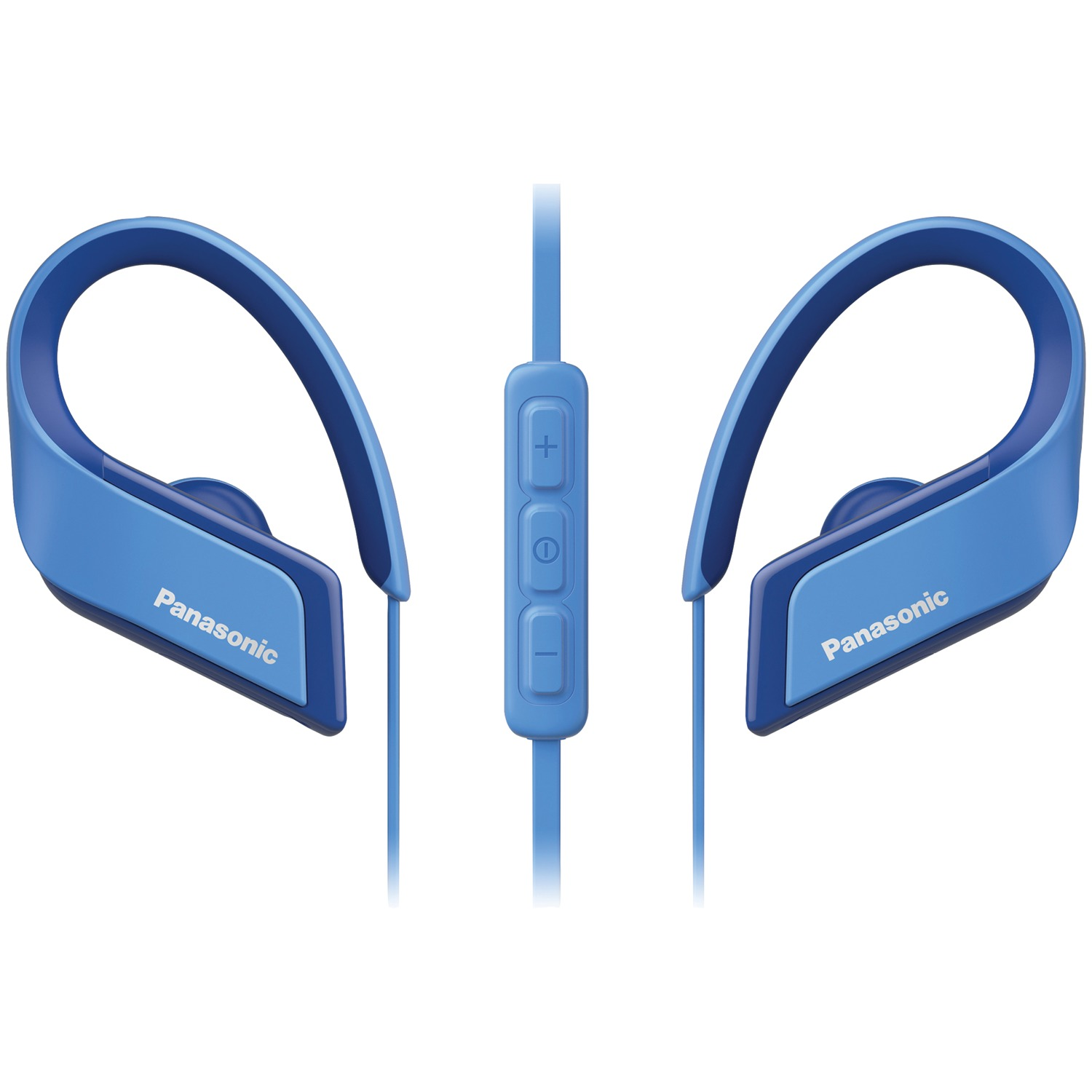 Panasonic RP-BTS35-A WINGS Ultralight In-Ear Sport-Clip Earphones with Bluetooth (Blue)
