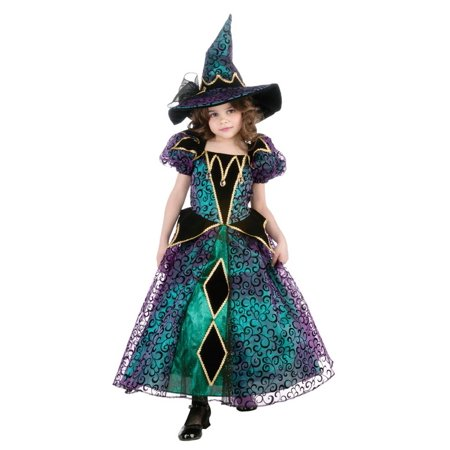 Girls Radiant Witch Costume - Witch Costume Girls