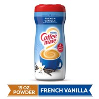 COFFEE MATE French Vanilla Powder Coffee Creamer 15 Oz. Canister Non-dairy Lactose Free Gluten Free Creamer