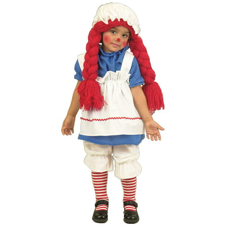 Girls Little Rag Doll Costume (Rag Dolls Halloween Night)