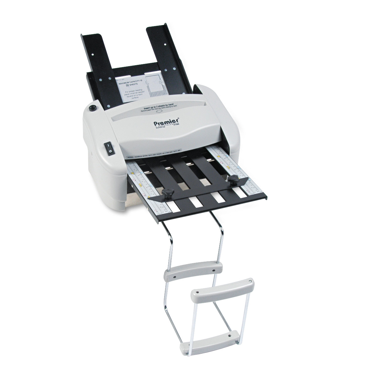 Martin Yale Model P7400 RapidFold Light-Duty Desktop AutoFolder, 4000 Sheets/Hour