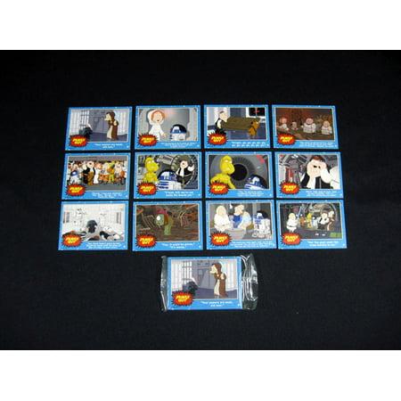 2007 Inkworks Family Guy Blue Harvest Promo Set (12) Nm/Mt](Modern Family Promo Halloween)