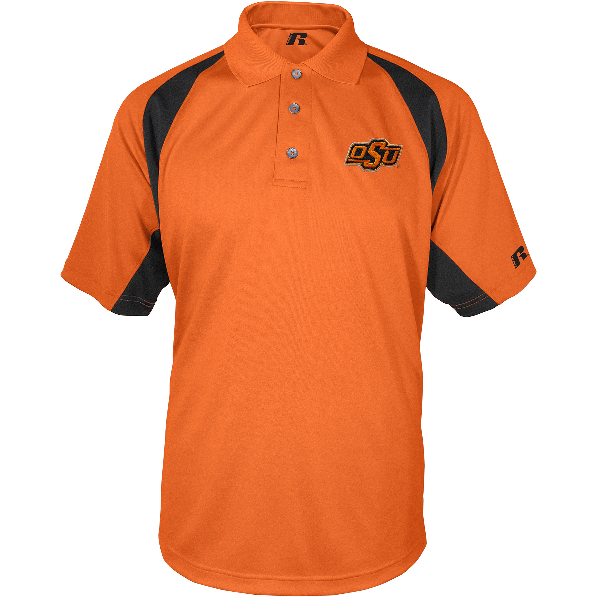 Russell NCAA Oklahoma State Cowboys, Men's Synthetic Polo
