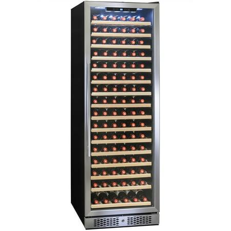 Image of AKDY 171 Bottles Single Zone Freestanding Electric Wine Cooler w/ Built-in Compressor