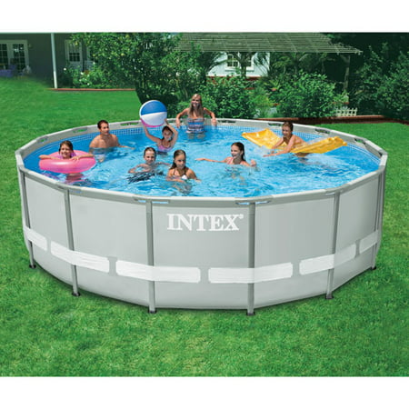 Intex 16 39 x 48 ultra frame pool Intex swim center family pool cover