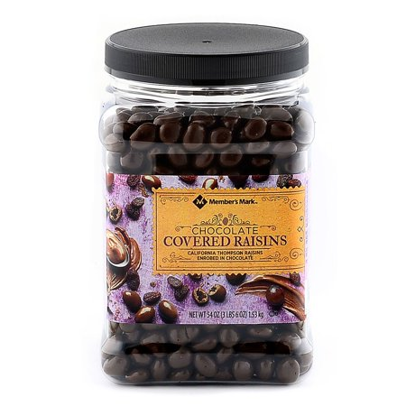 Member's Mark Chocolate Raisins (54 oz.) (Chocolate Pecan Raisins)