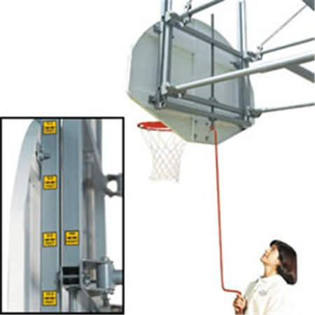Bison 5044Xxxx Bison Gymnasium Height Adjustment System Basketball Accessories