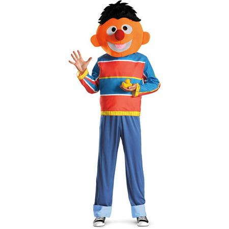 Ernie Adult Halloween Costume - Ernie Bert Halloween