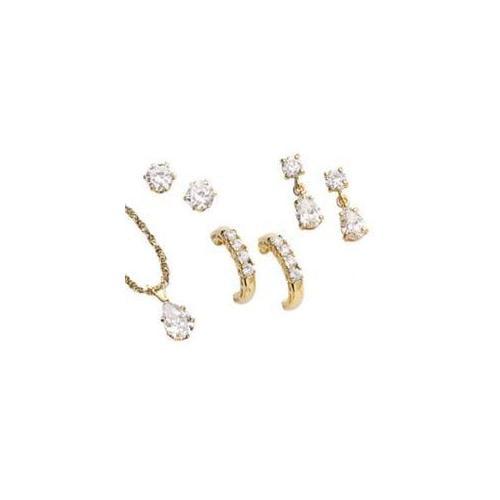MBM Company 137920001 UltraCZ Earring Trio Set with Free Gift - Pierced Style