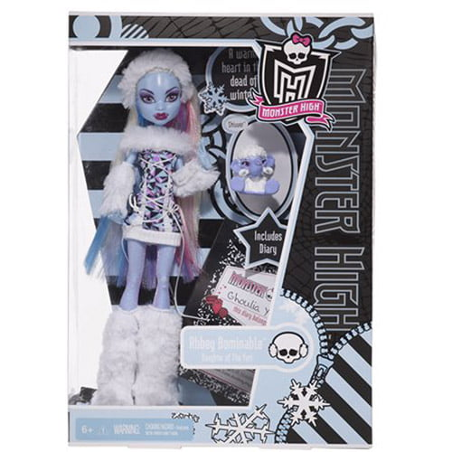 Monster High Abbey Bominable Daughter of the Yeti by Mattel, Inc.