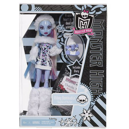 Monster High Abbey Bominable Daughter of the Yeti