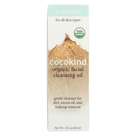 Cocokind Organic Facial Cleansing Oil - 2 Fl oz. (Mv Organic 9 Oil Cleansing Tonic Review)