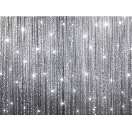 Efavormart 20ft X 10ft Sequins Backdrop Curtain Photography