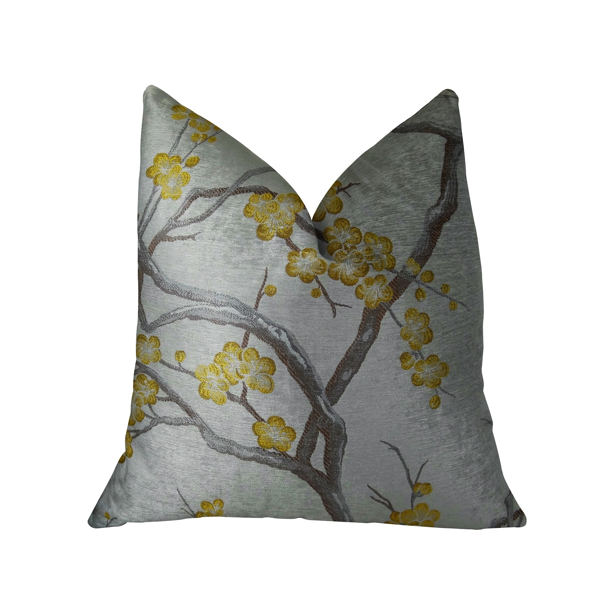 Plutus Vesoul Handmade Throw Pillow, Double Sided
