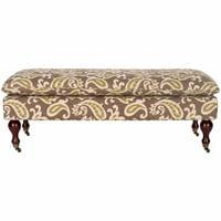 Safavieh Hampton Pillowtop Bench, Multiple Colors