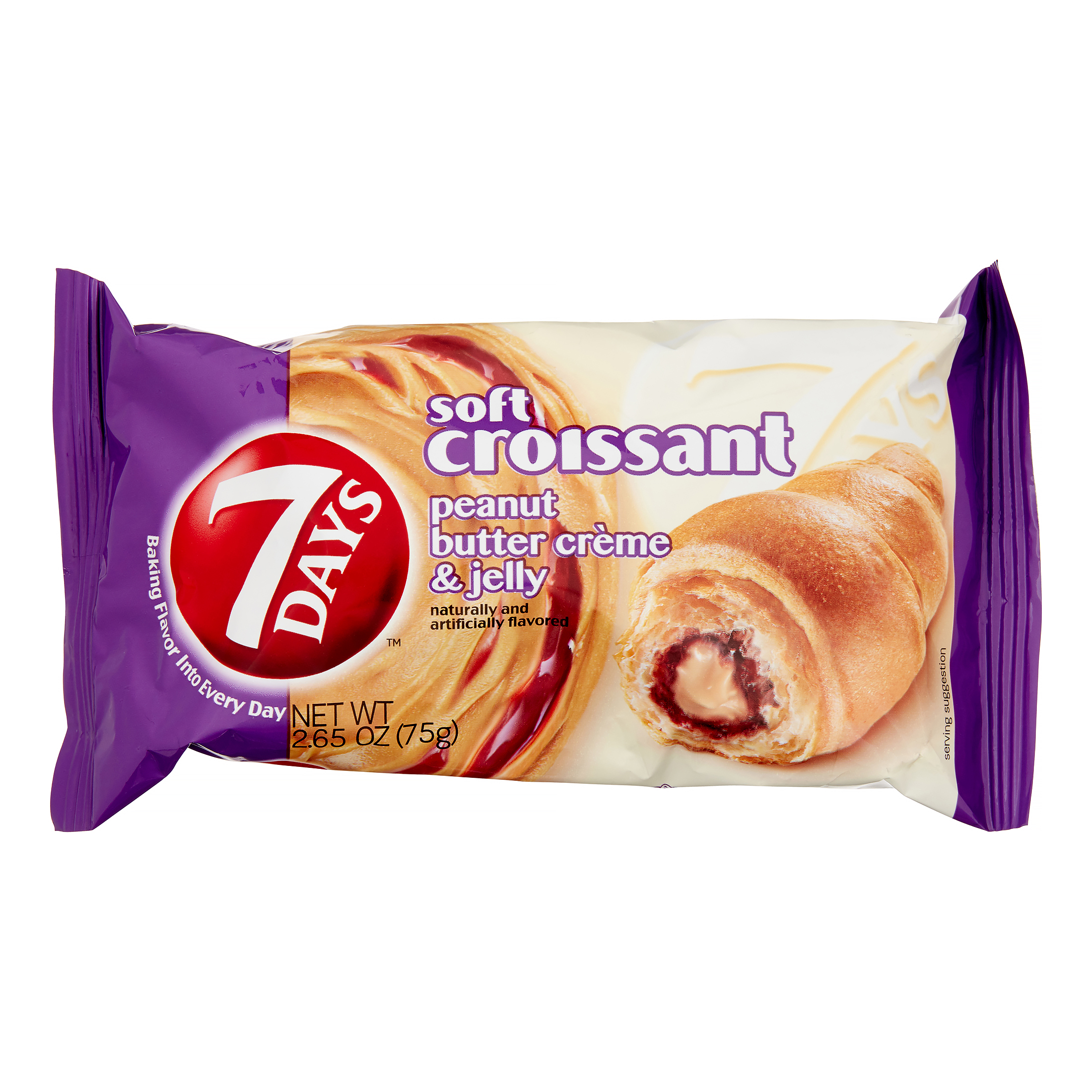 Image of 7 Days Soft Croissant Peanut Butter & Jelly 2.65oz