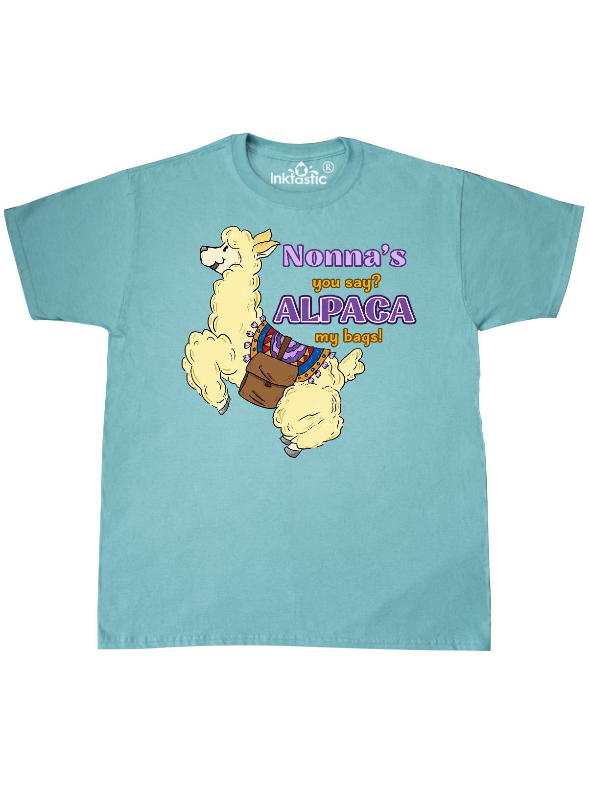 inktastic Nonnas You Say Alpaca My Bags Toddler Long Sleeve T-Shirt
