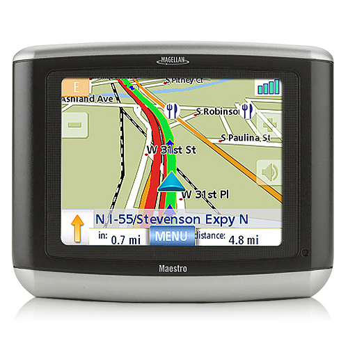 Refurbished Magellan Maestro 3100 3.5-inch Automotive GPS w/ 750,000 Points of Interest