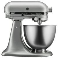 KitchenAid Classic Series 4.5 Quart Tilt-Head Stand Mixer - Silver