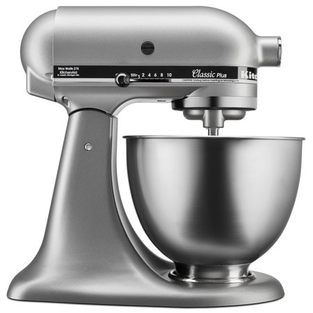 KitchenAid® Classic Plus™ Series 4.5 Quart Tilt-Head Stand Mixer - Silver (Kitchenaid Mixer Covers 5 Quart)