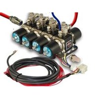 AirBagIt AIRVALVE-ENGINE-8AA 0.38 In. 3-Position 200Psi 8-Cylinder Air-Engine Manifold Valve