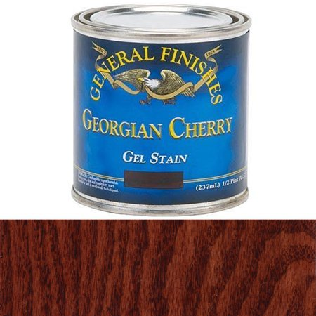 Georgian Cherry Gel Stain, 1/2 Pint