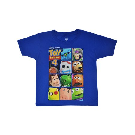 Boys Toy Story 4 Woody Buzz Forky Rex Hamm T-Shirt (At And T Store Boulder Co)