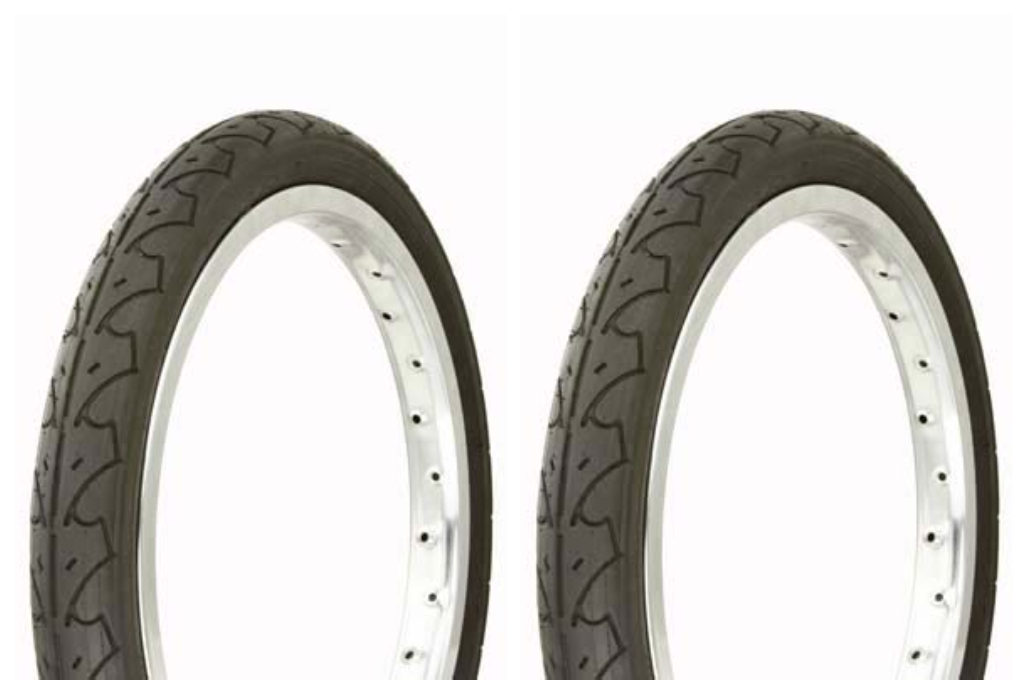"""Duro 16/"""" X 1.75/"""" Whitewall Tires"""