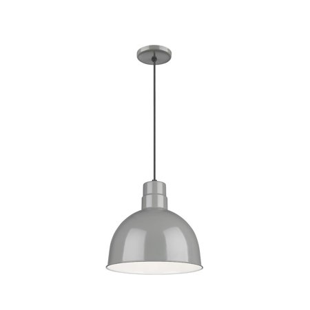 Gy Light - Millennium - RDBC12-GY - One Light Pendant - R Series - Gray