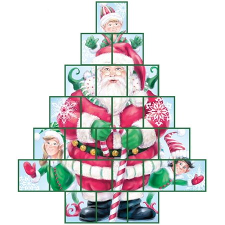 Secret Santa Treasure Box Advent Calendar (Countdown to Christmas)](Advent Colors)