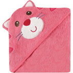Luvable Friends Hooded Towel with Embroidery, Choose Your Animal