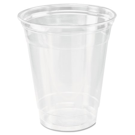Dart Ultra Clear Cups, Squat, 12-14 oz, PET, 50/Bag, 1000/Carton -DCCTP12CT