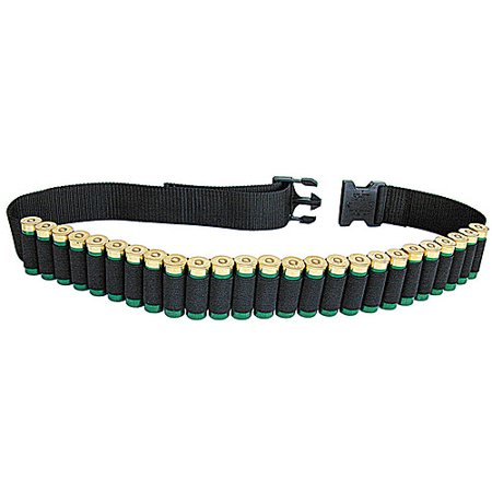 Allen 211 Shell Belt Shotgun Black Cordura Nylon