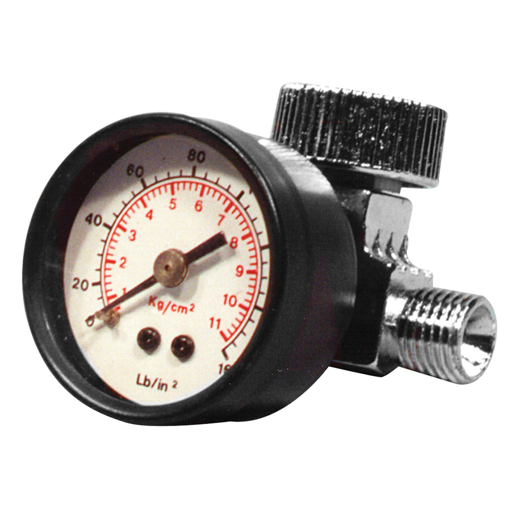 Astro Pneumatic WS11 Air Regulator with Gauge Fits Any Spray Gun or Air Tool