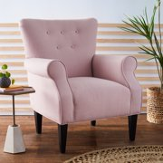 Belham Living Mara Rolled Arm Accent Chair, Multiple Colors