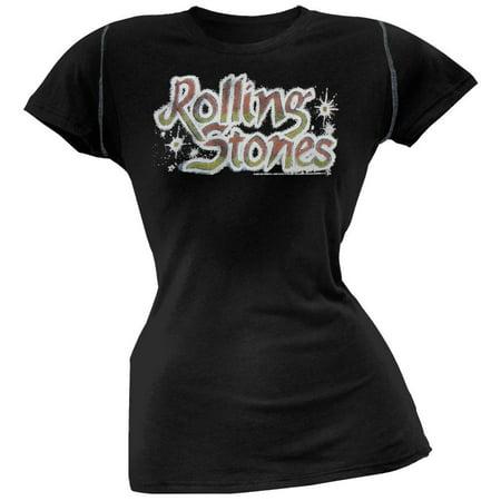 - Rolling Stones - Tattoo You Juniors Black T-Shirt