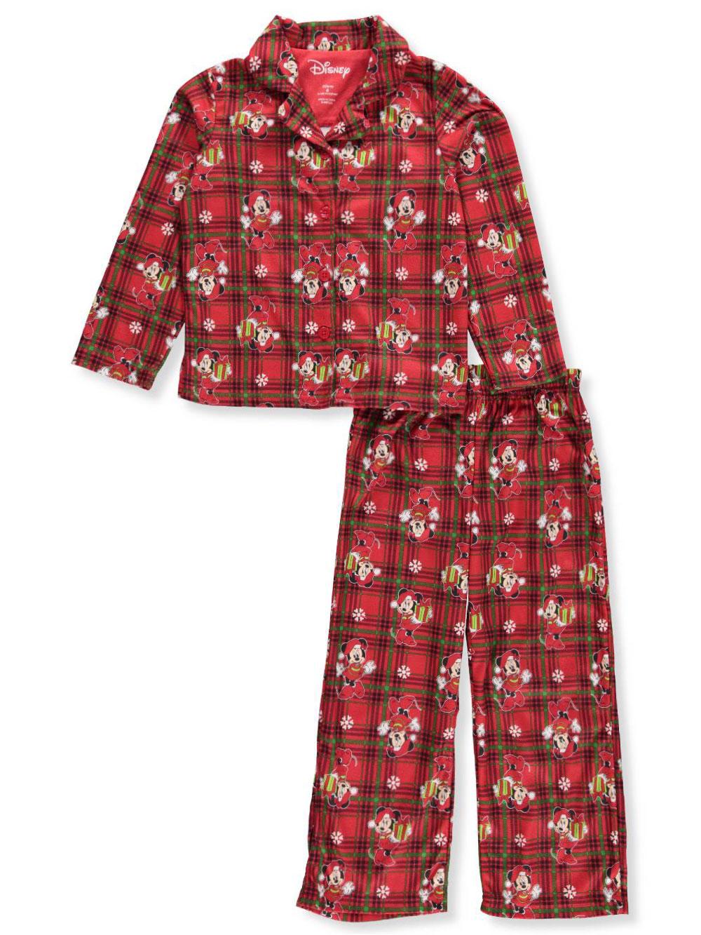 Disney Minnie Mouse Girls' 2-Piece Pajamas